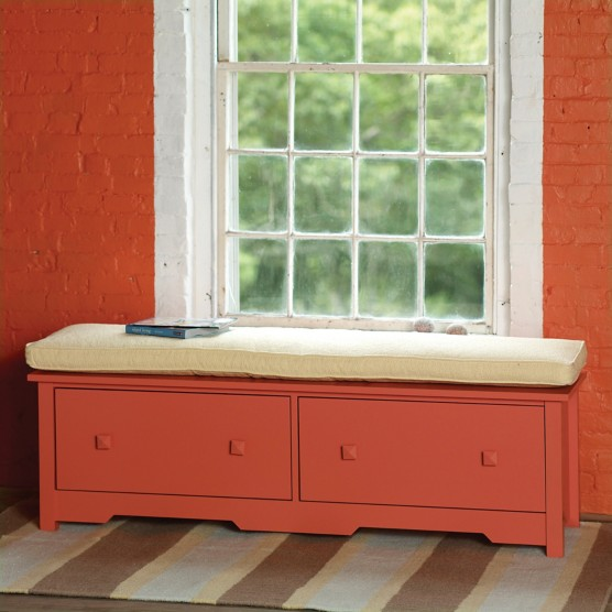 Bay Double Window Seat Benches Amp Chests Maine Cottage 174
