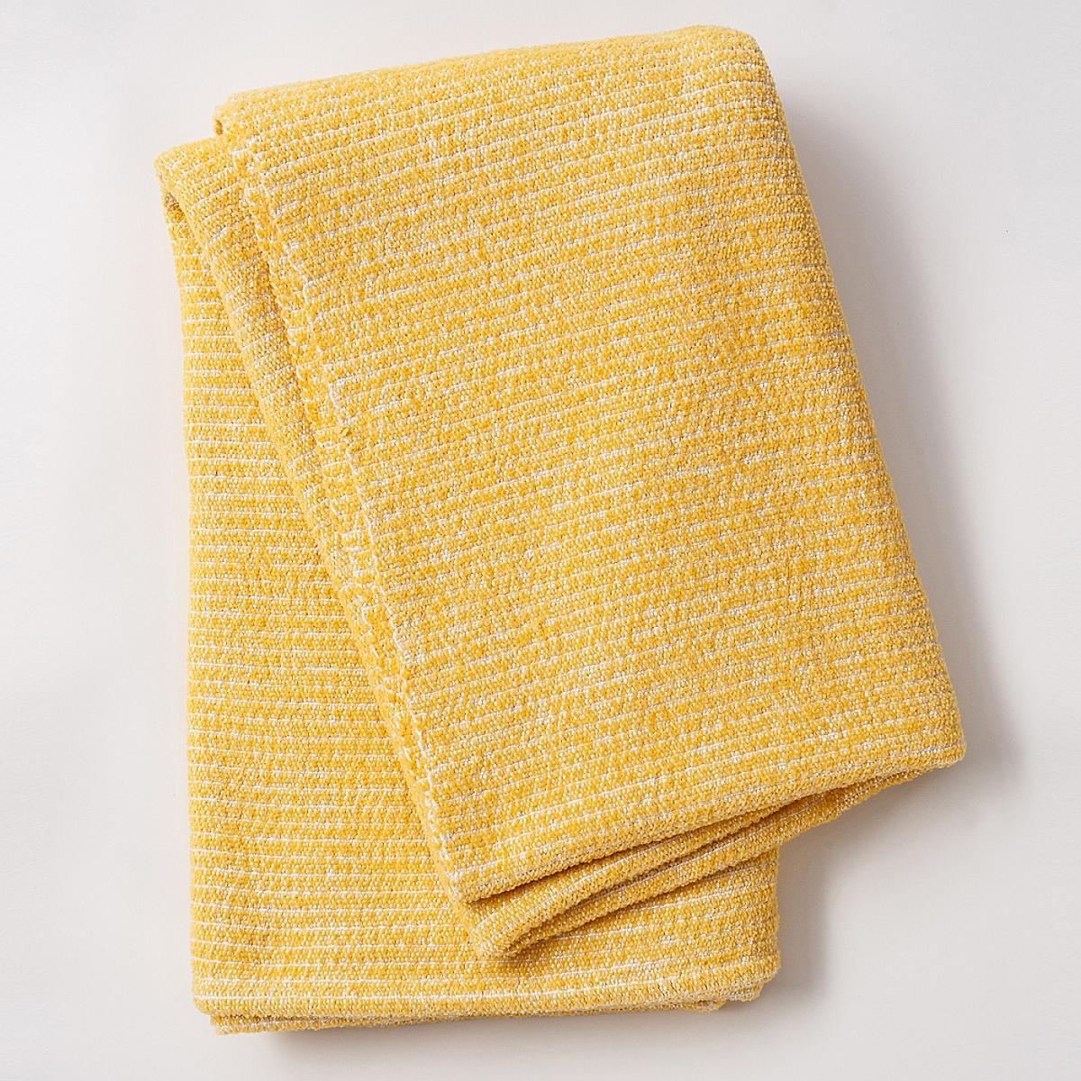Beach Blanket Throw Lemon