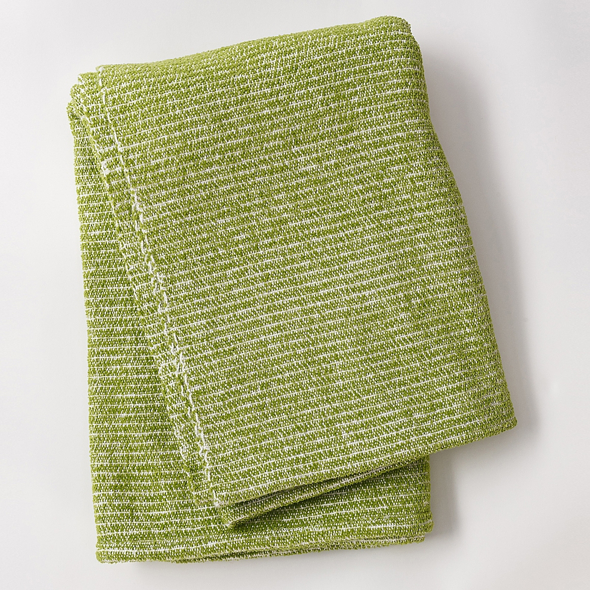 Beach Blanket Throw Lime