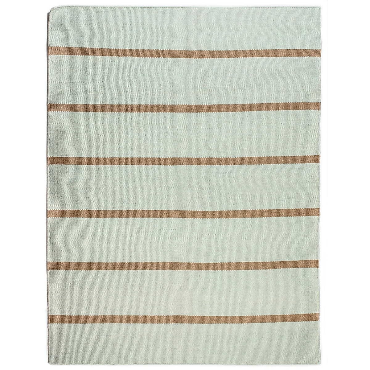 Bodie Island Wool Berber Striped Rug