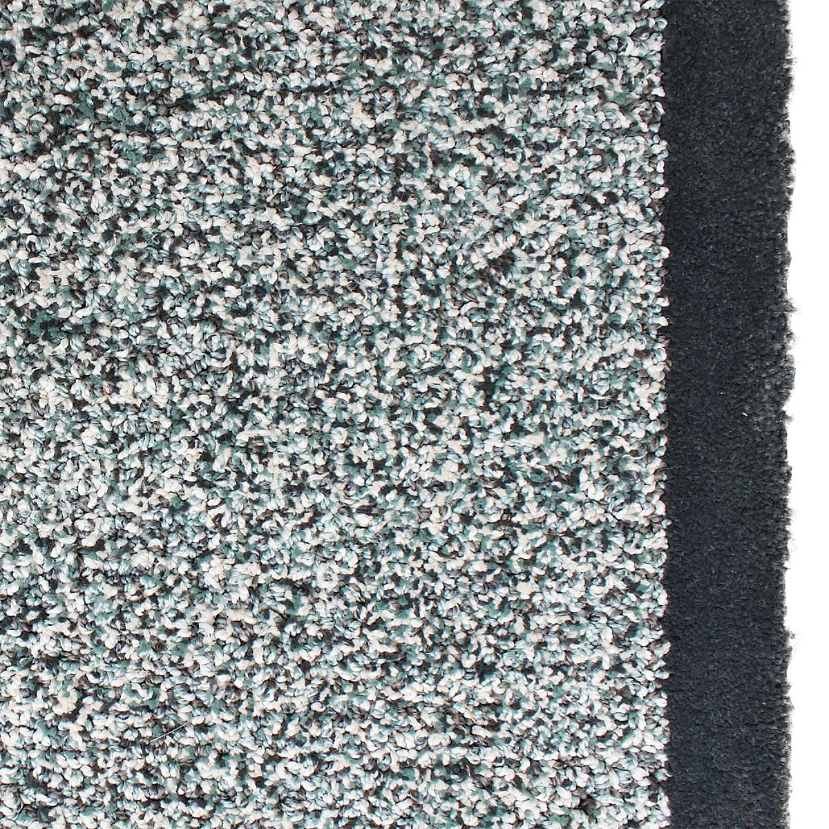 Border Rug Charcoal