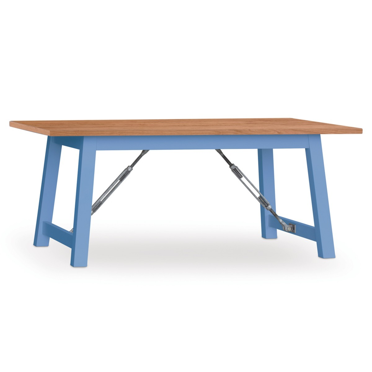 Cable Lock Dining Table - Cherry Top