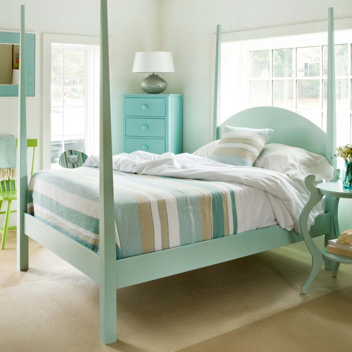 Maine Bedroom Furniture Calvin Bed By Maine Cottage Where Color Lives
