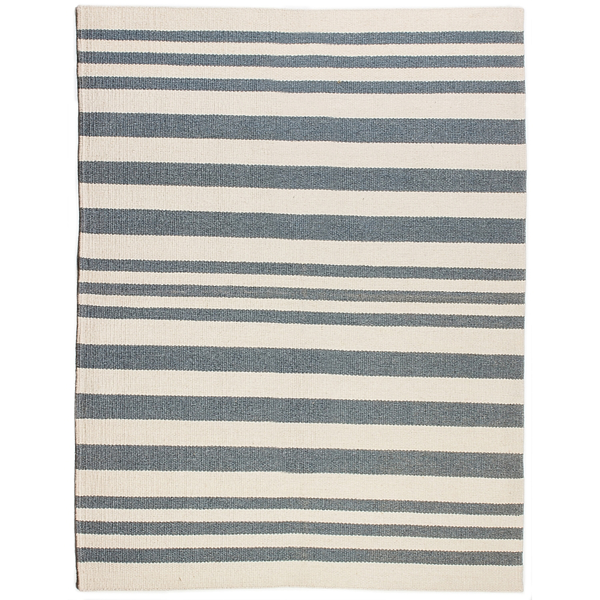 Cape Elizabeth Wool Berber Striped Rug