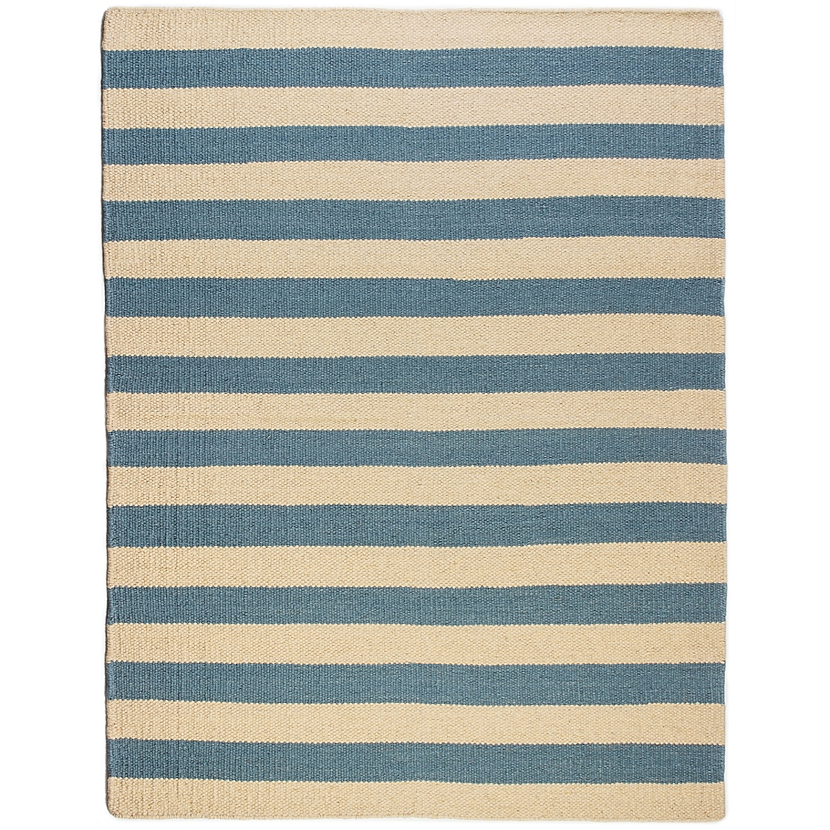 Cape Hatteras Wool Berber Striped Rug