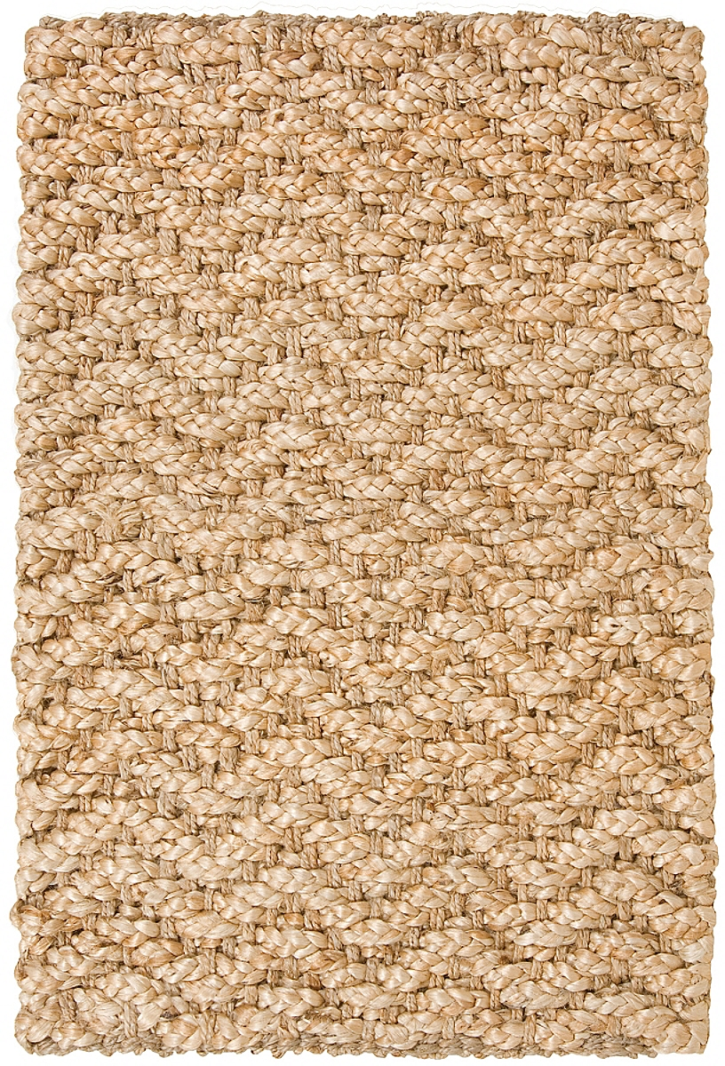 Chevron Jute Rug: Natural Gold