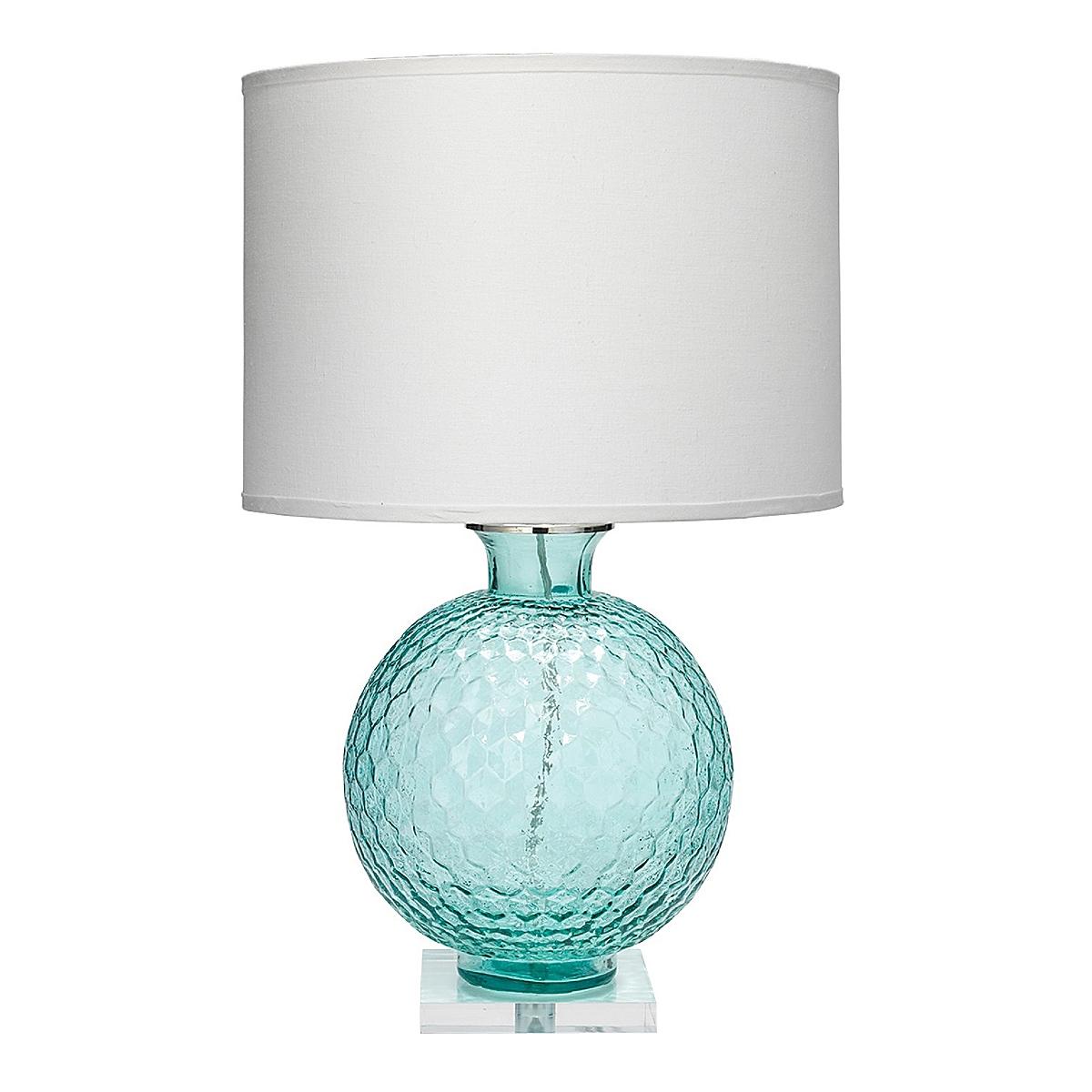 Clark Table Lamp - Aqua