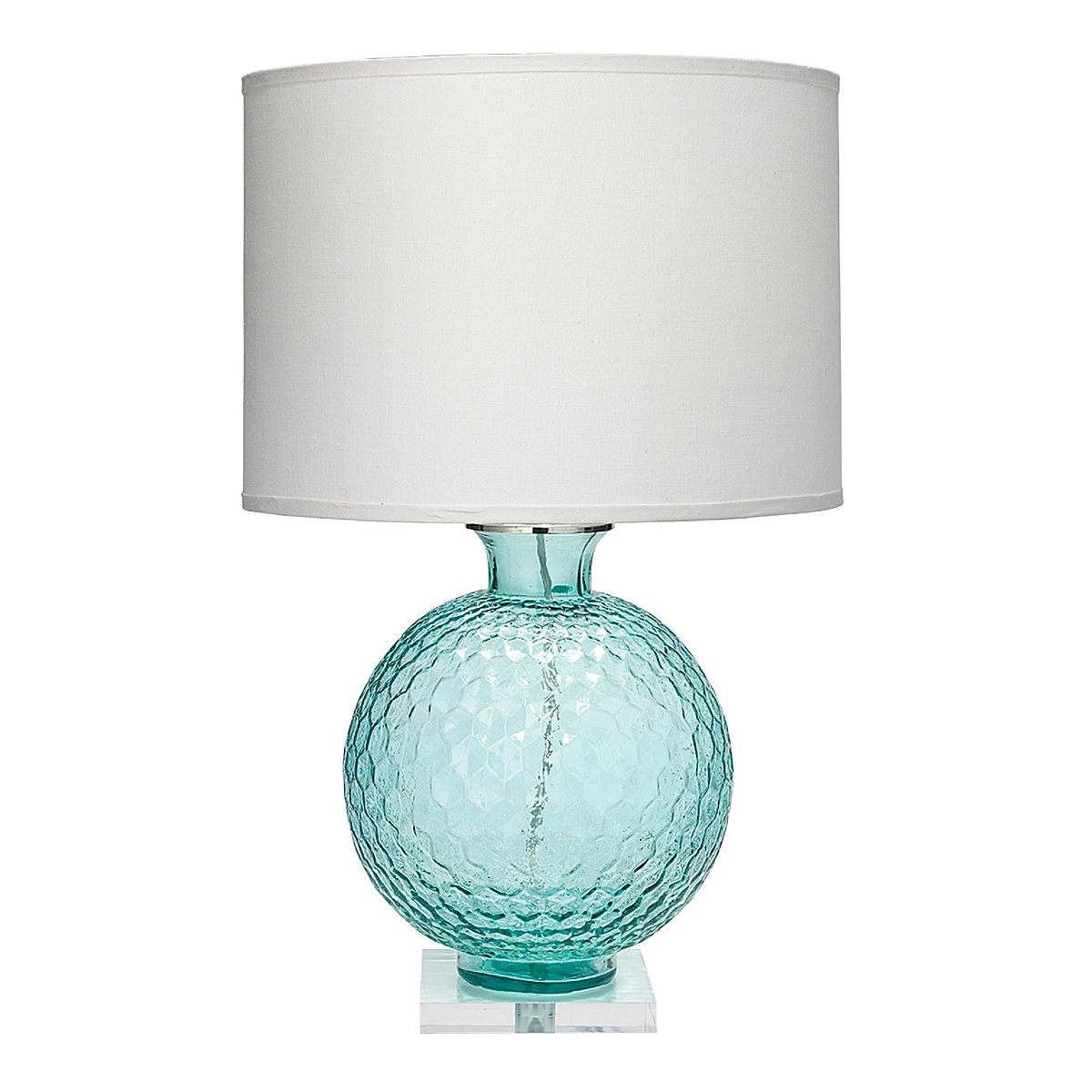Clark Table Lamp - Aqua