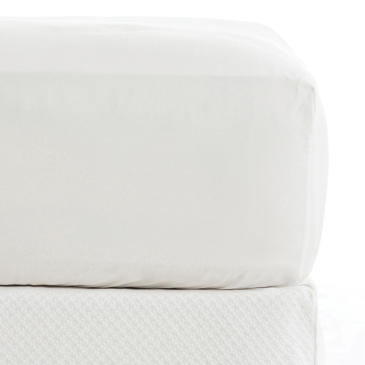 Classic 400 Thread Count Fitted Sheet White