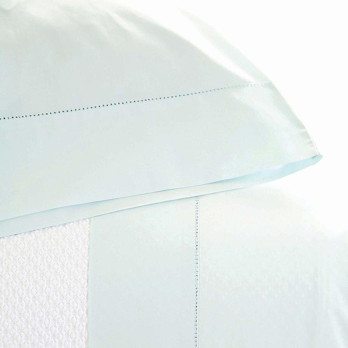 Classic Hemstitch Pillowcases Bluebell