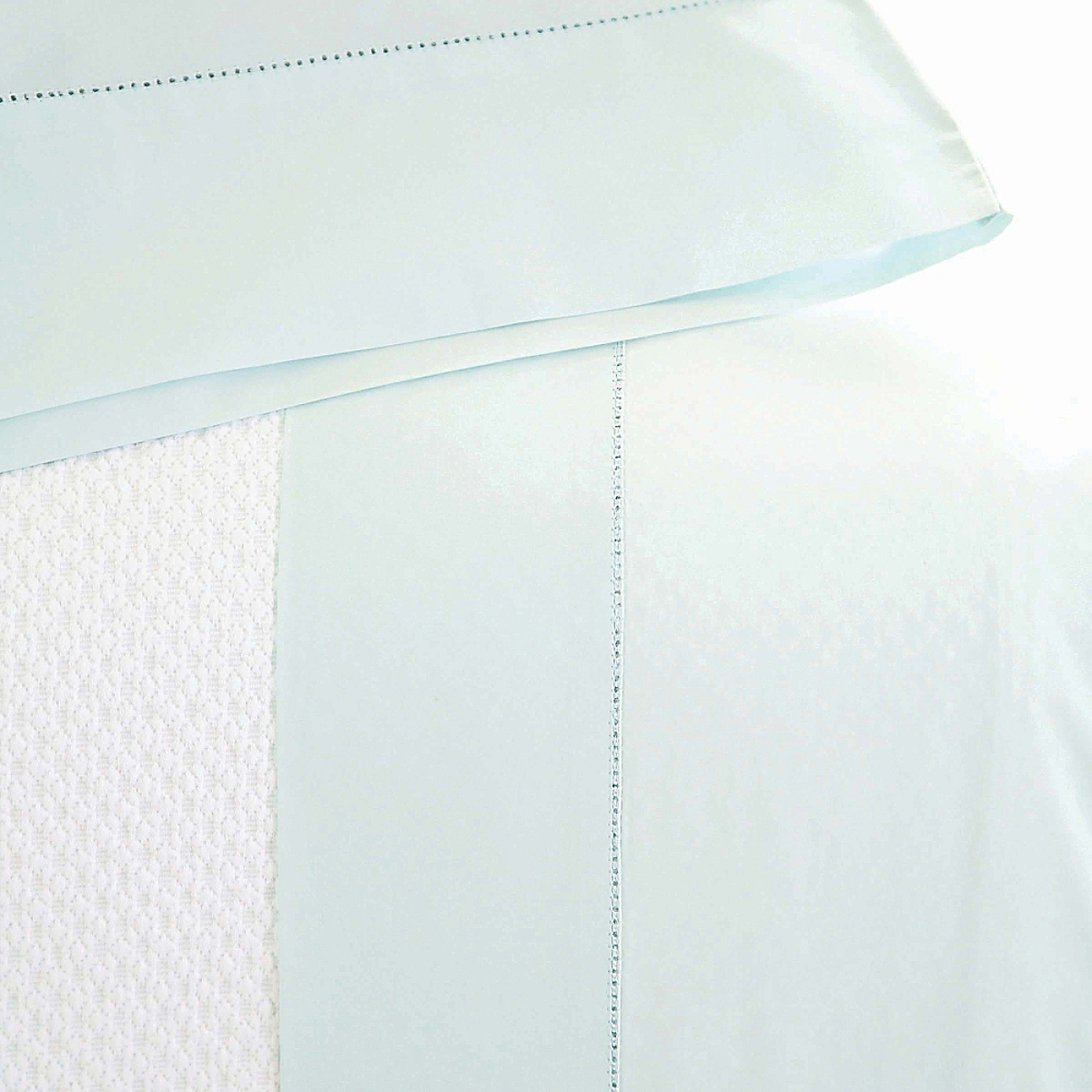 Classic Hemstitch Sheet Set Bluebell