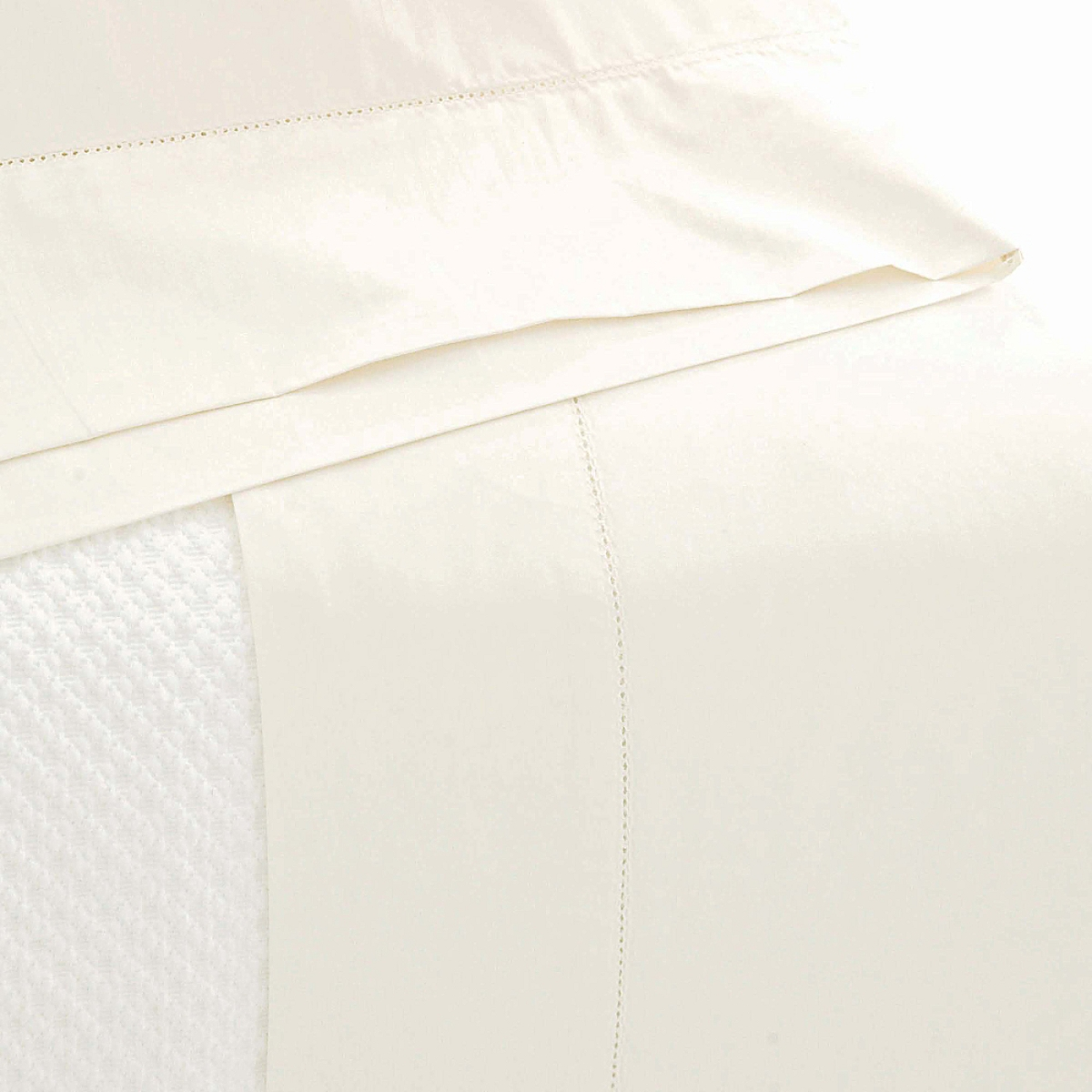 Classic Hemstitch Sheet Set Ivory