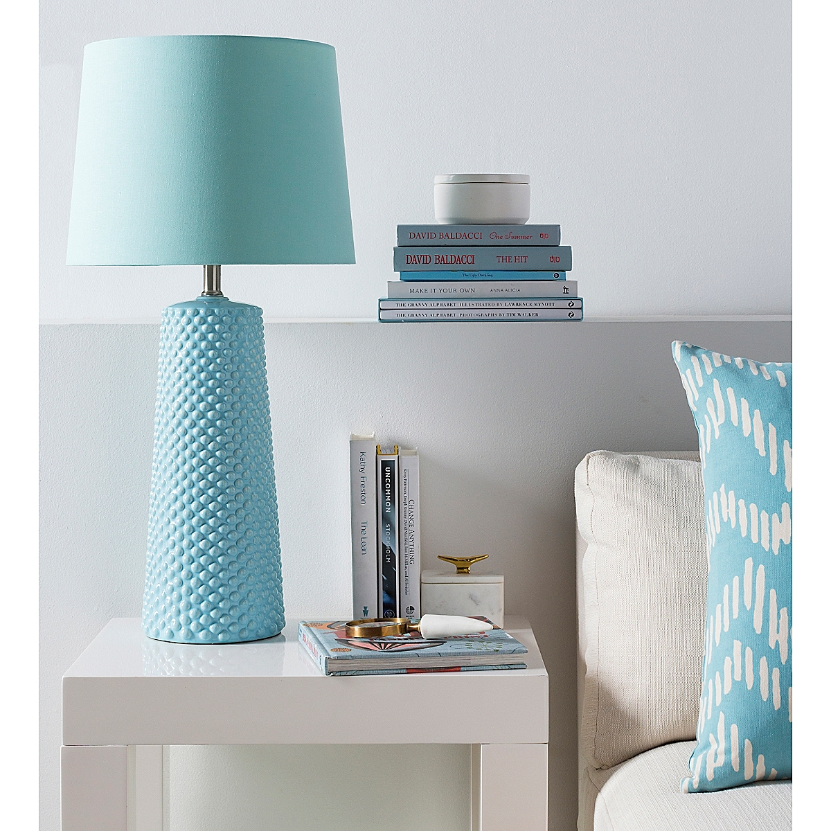 Clayton Table Lamp - Blue