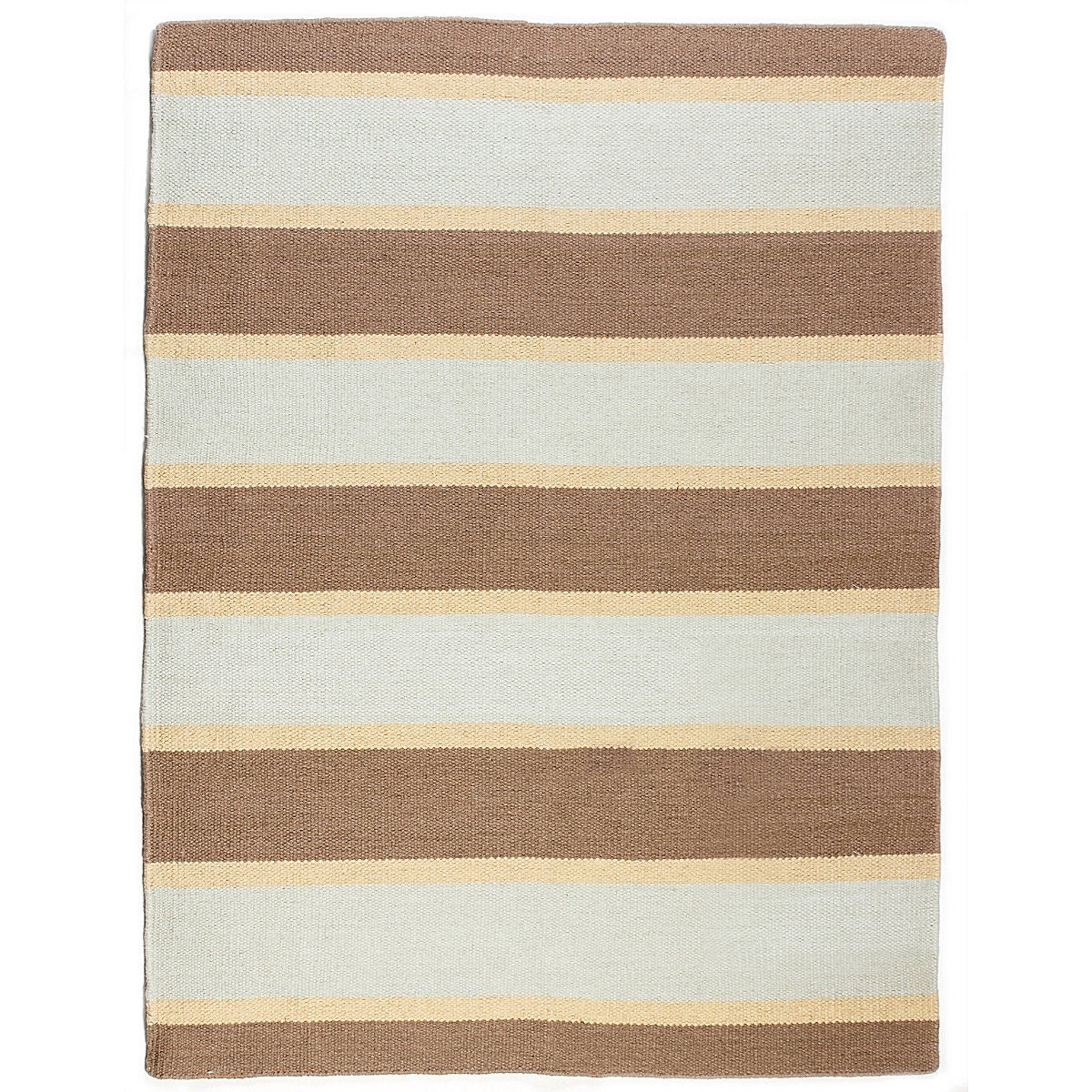Currituck Wool Berber Striped Rug