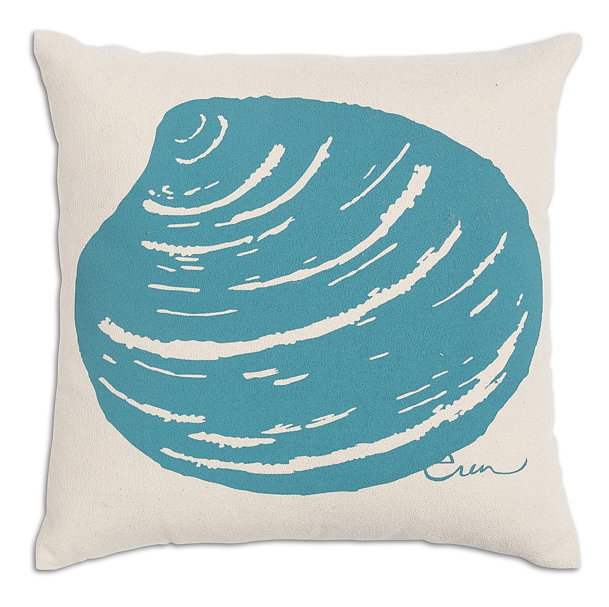 "20"" x 20"" - Clam Pillow: Surf"