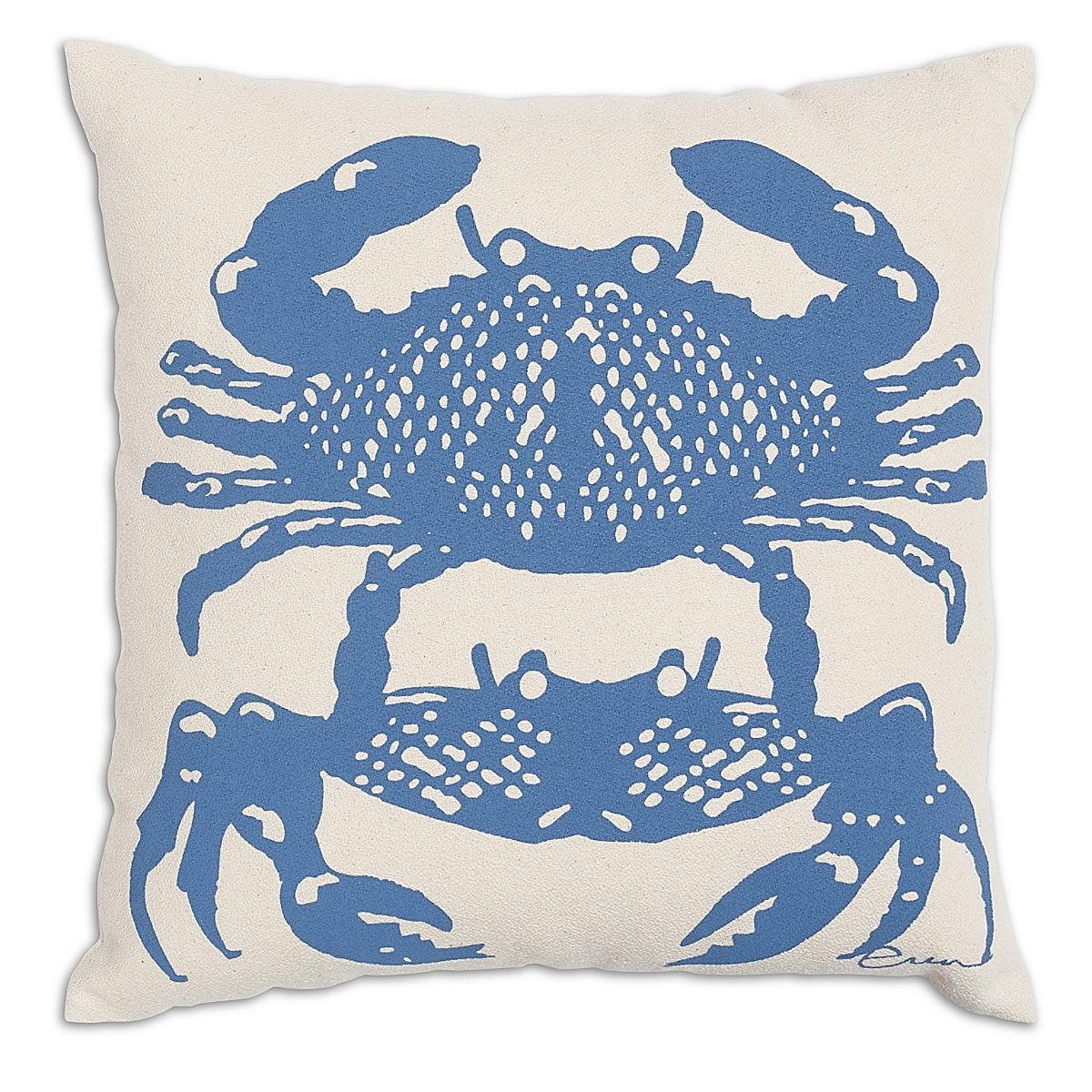 "20"" x 20"" - Crabbies Pillow: French Blue"