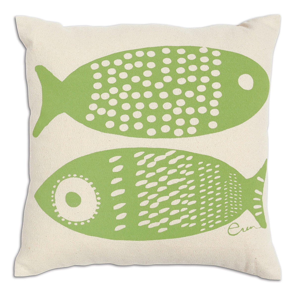 "20"" x 20"" - Double Tuna Pillow: Hot Lime"