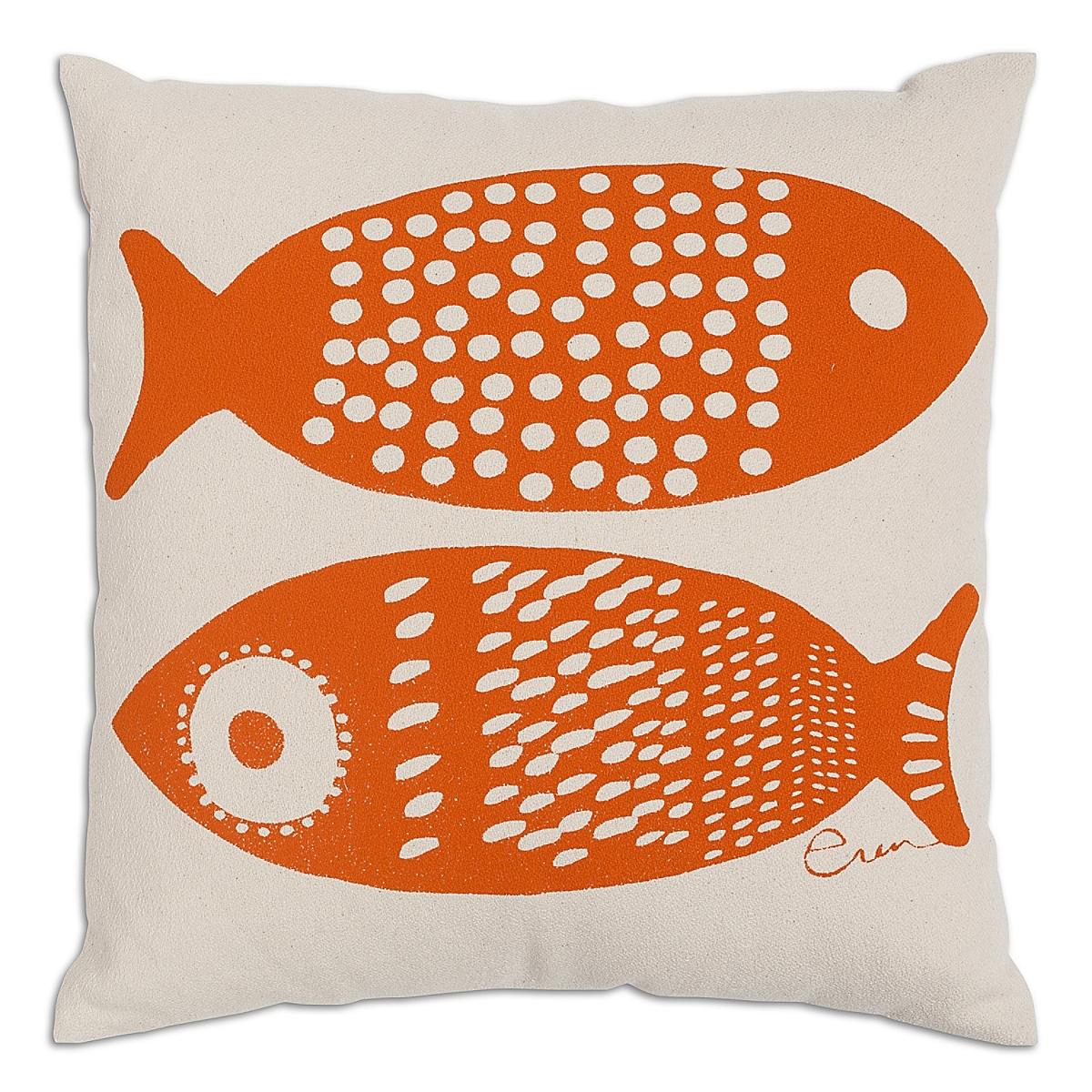 "20"" x 20"" - Double Tuna Pillow: Mango"