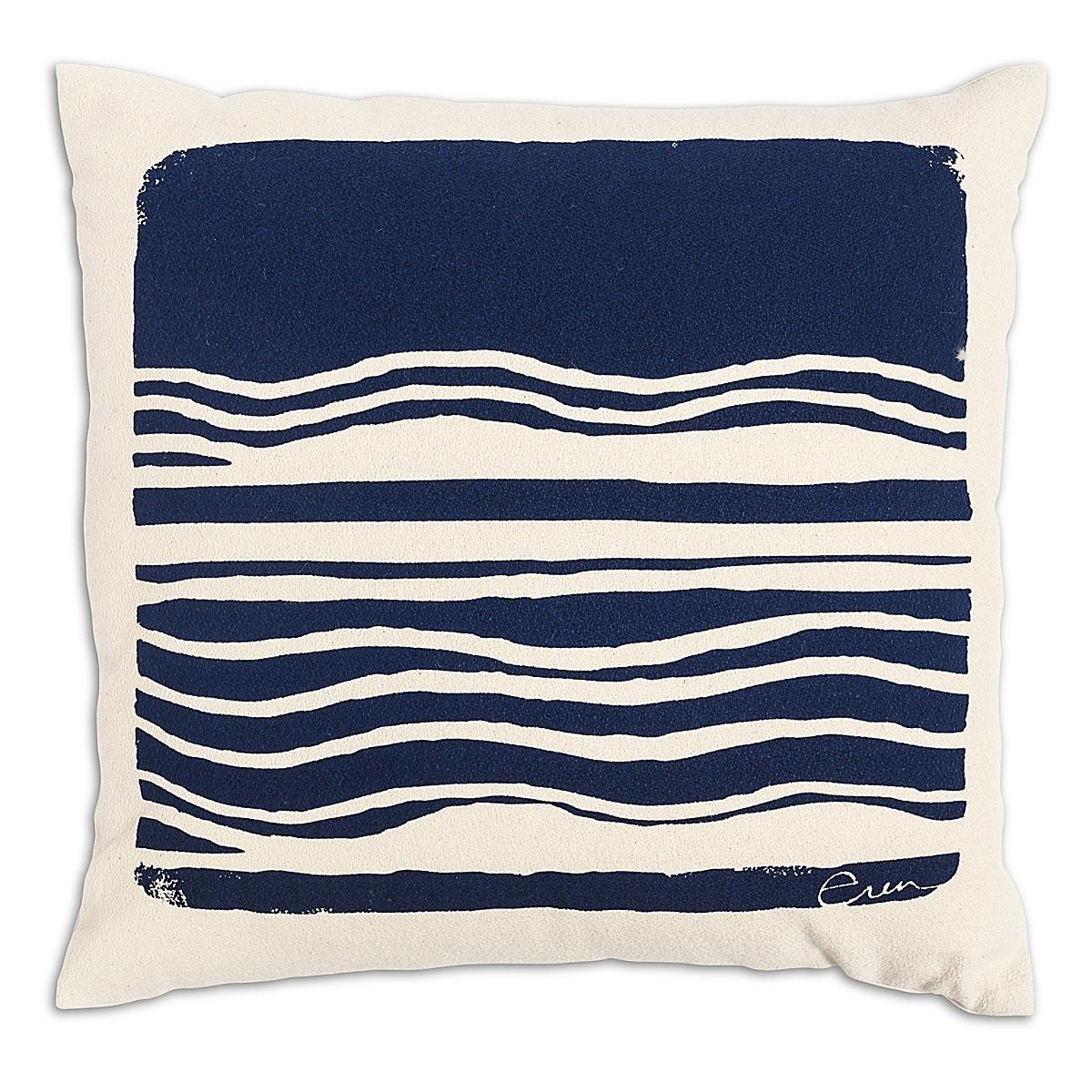 "20"" x 20"" - Wave Pillow: Navy"