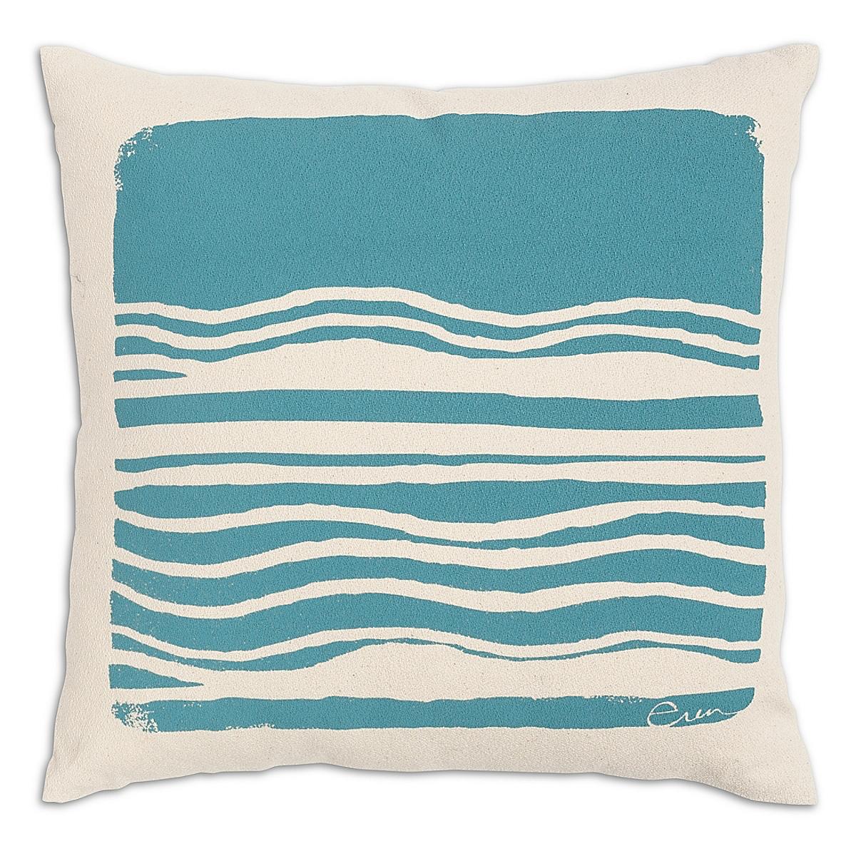 "20"" x 20"" - Wave Pillow: Surf"