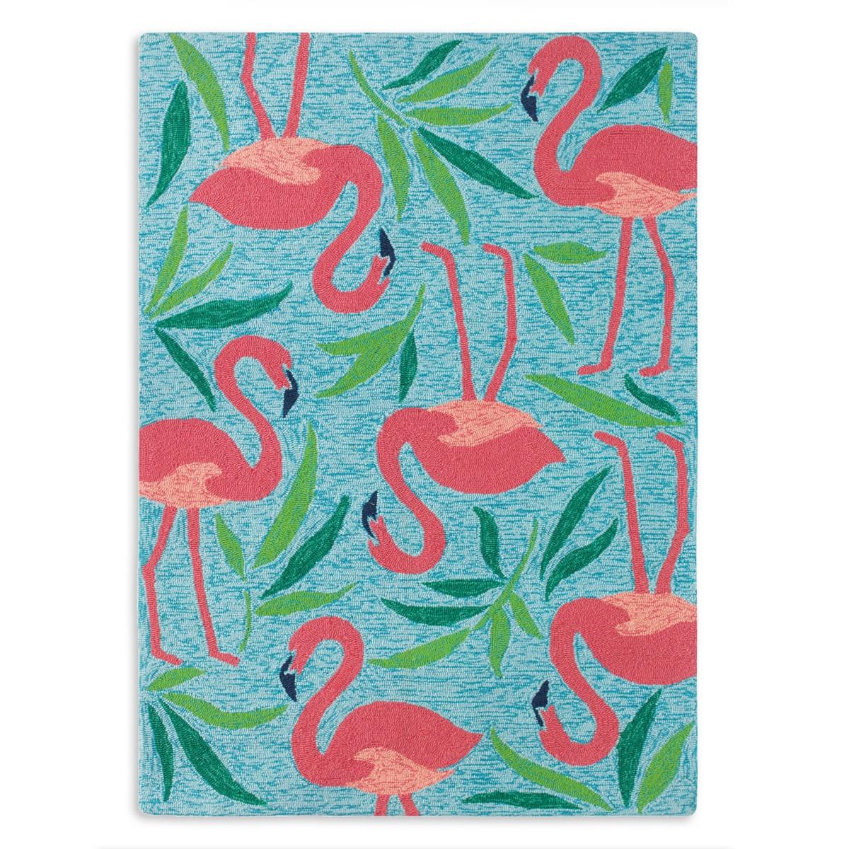 Fancy Flamingo Indoor/Outdoor Rug