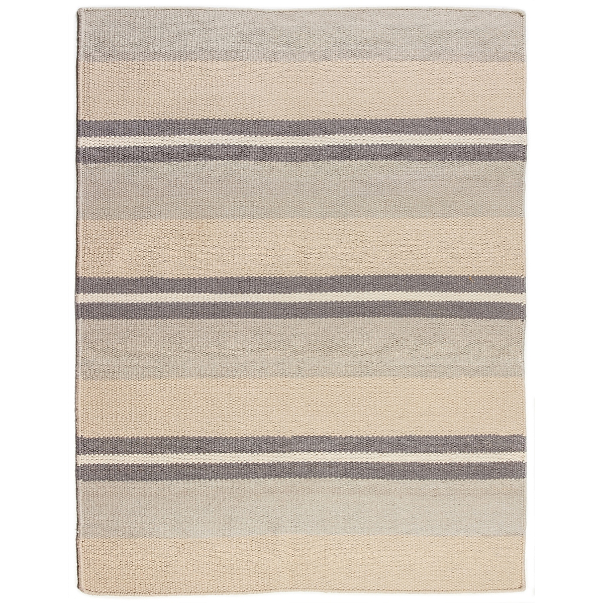Fenwick Island Wool Berber Striped Rug