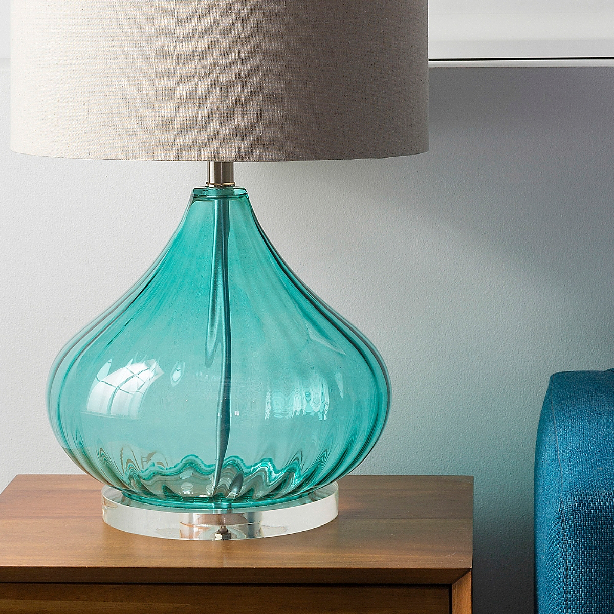 Fiona Table Lamp - Blue