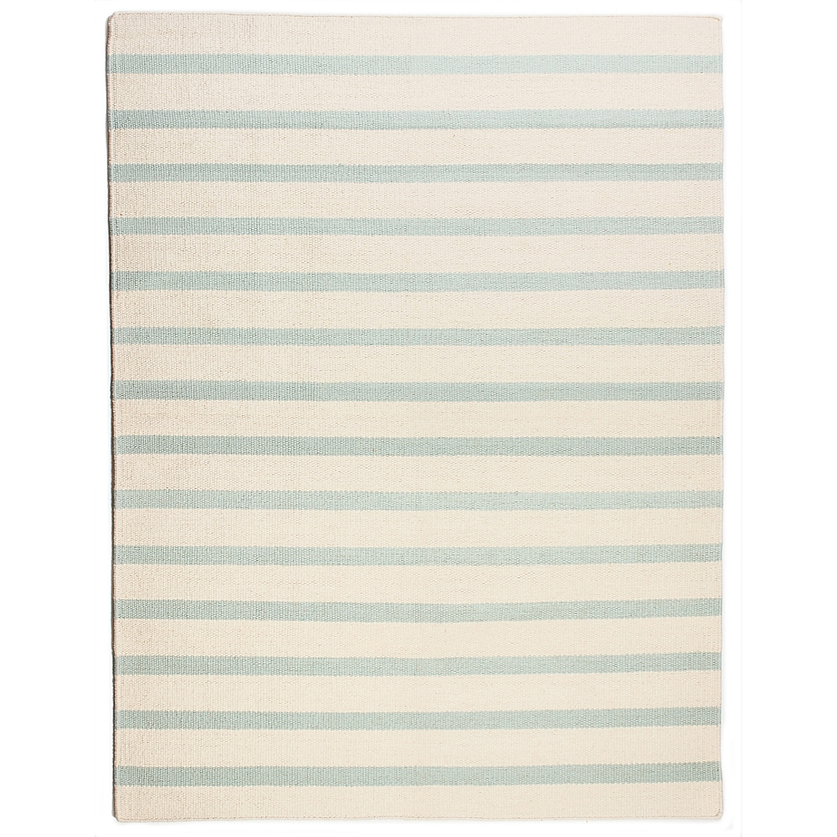 Hooper Strait Wool Berber Striped Rug