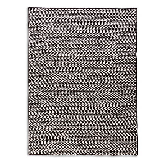 Houndstooth Wool Rug Charcoal Maine Cottage 174