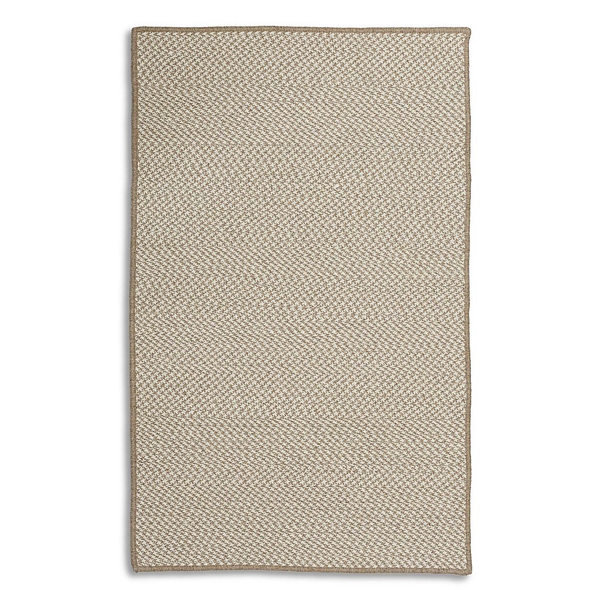 Houndstooth Wool Rug - Ivory