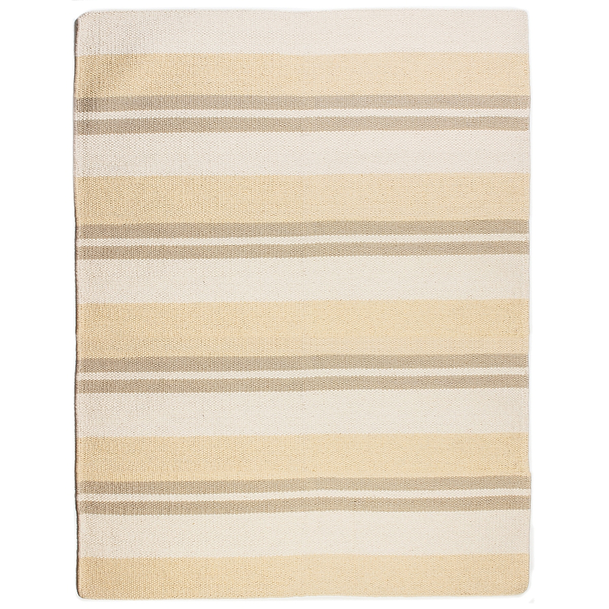 Jupiter Inlet Wool Berber Striped Rug