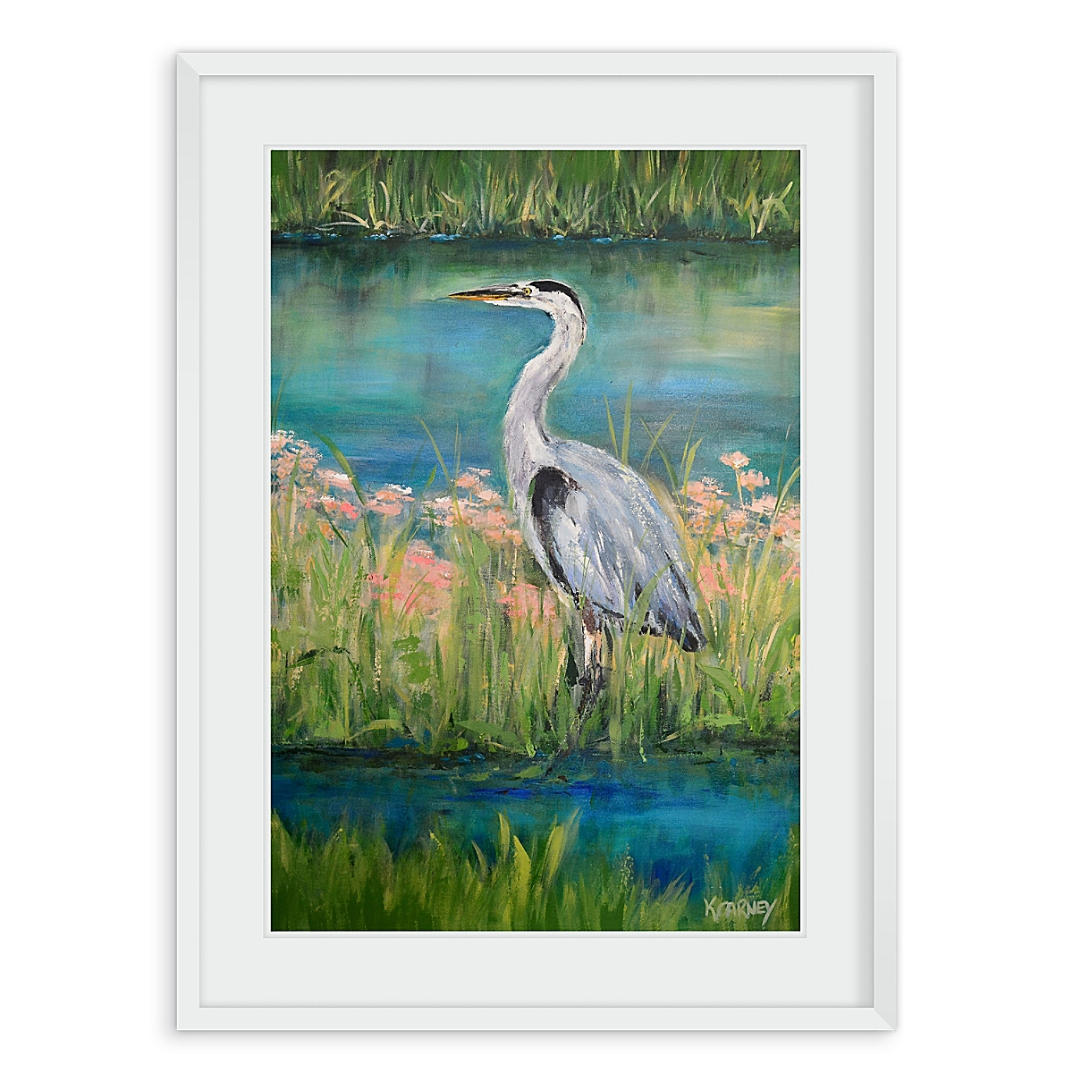 "Heron Cove 24 x 36""H"