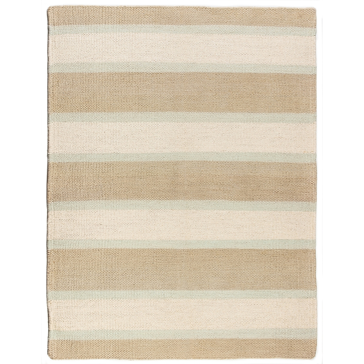 Kennebunk Pier Wool Berber Striped Rug