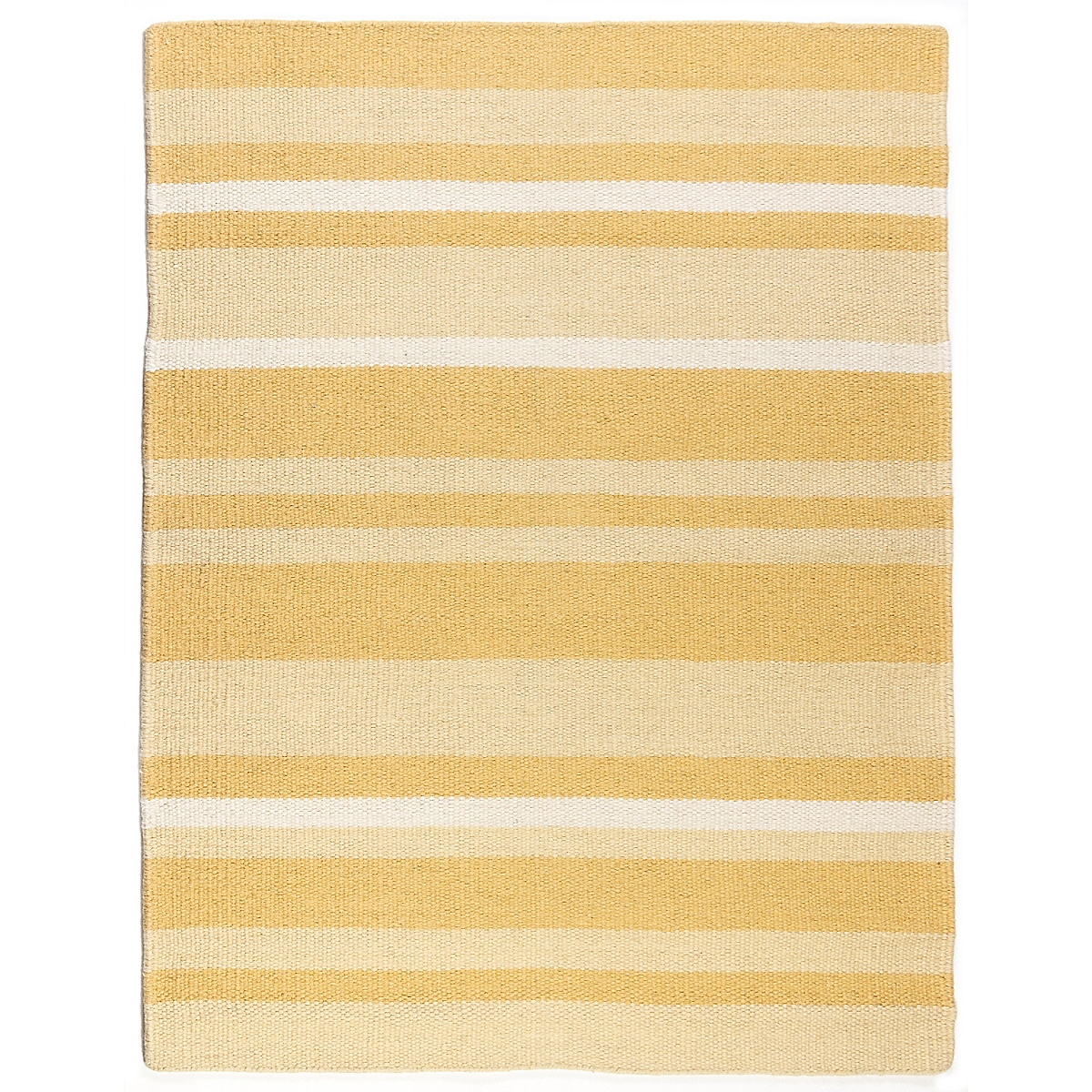 Libby Island Wool Berber Striped Rug