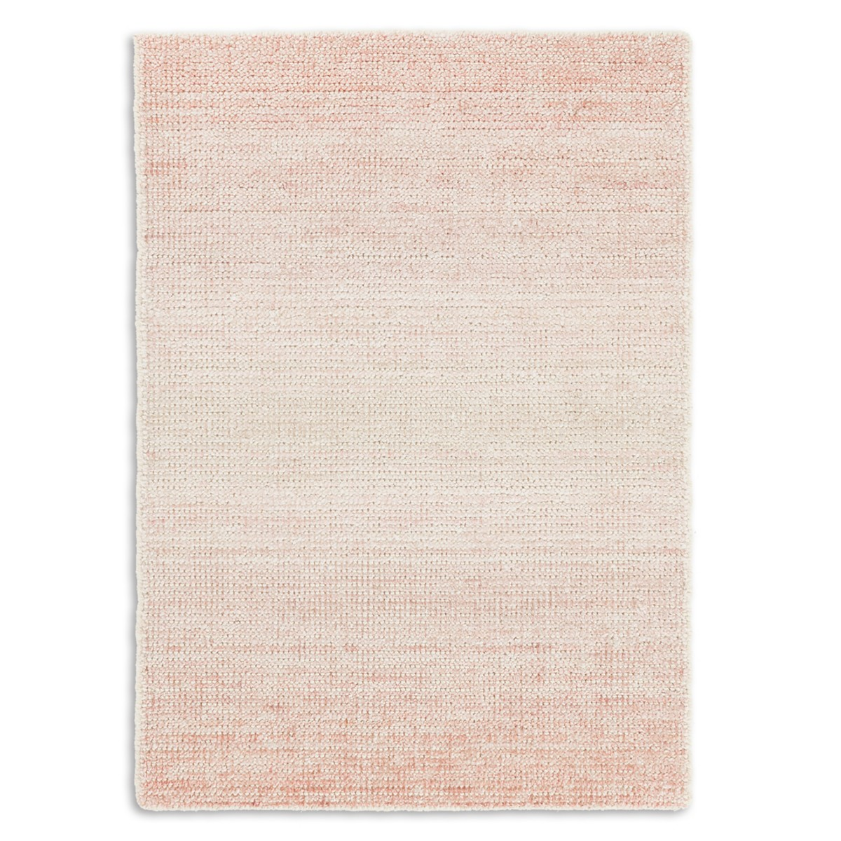 Moon Cotton Viscose Woven Rug - Pink