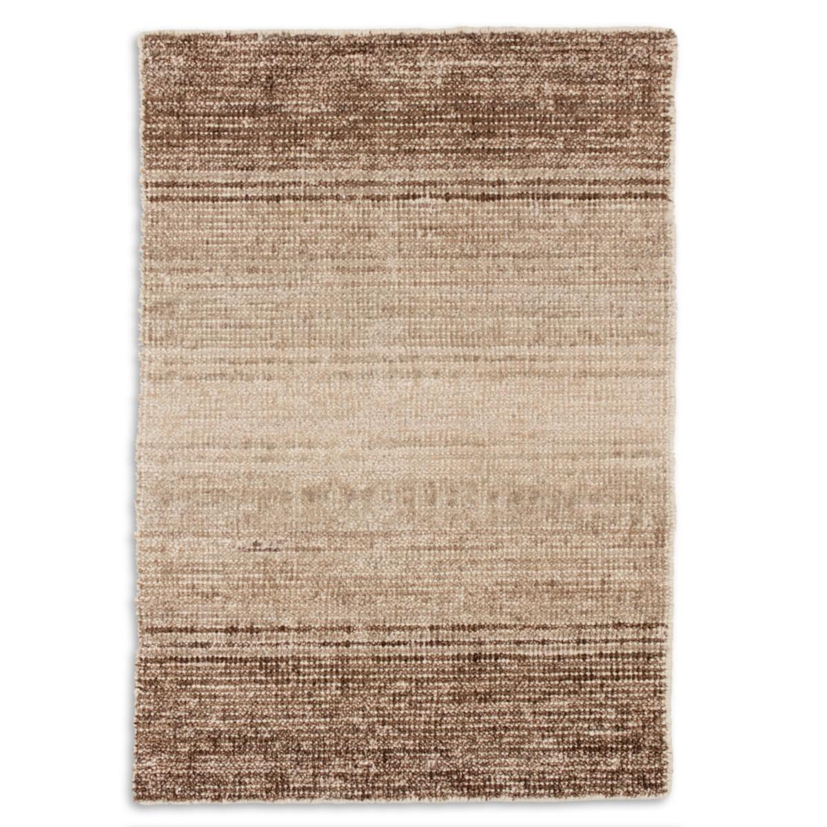 Moon Cotton Viscose Woven Rug - Sand