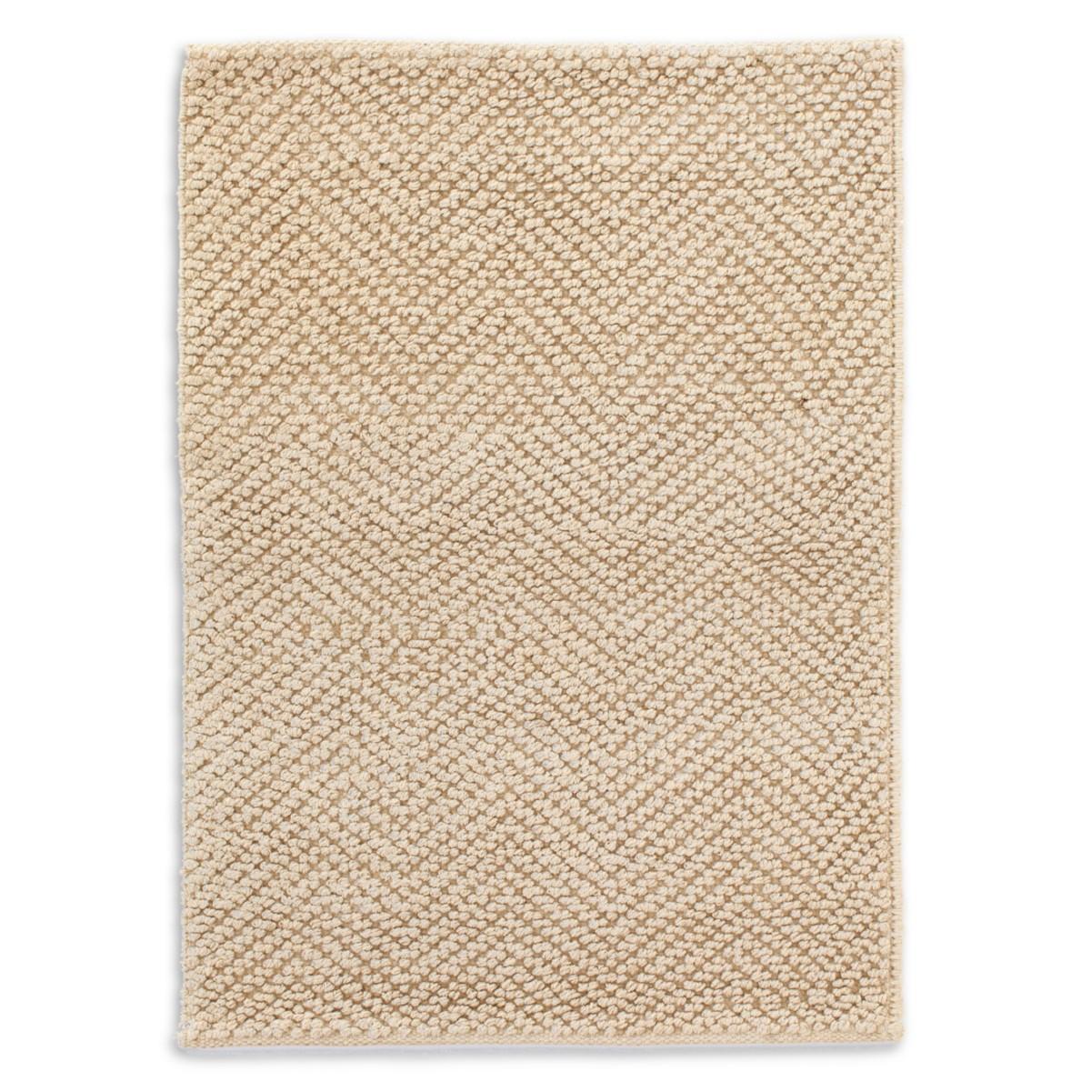 Nevis Jute Woven Rug - Sand