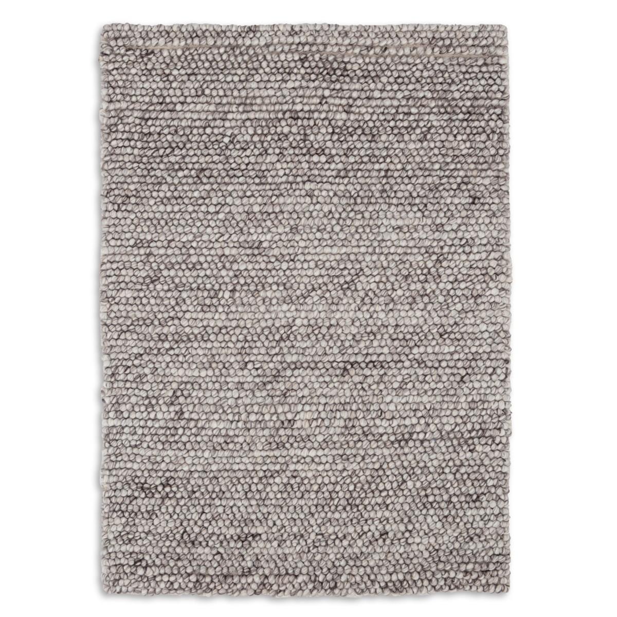 Niels Woven Wool/Viscose Rug - Grey