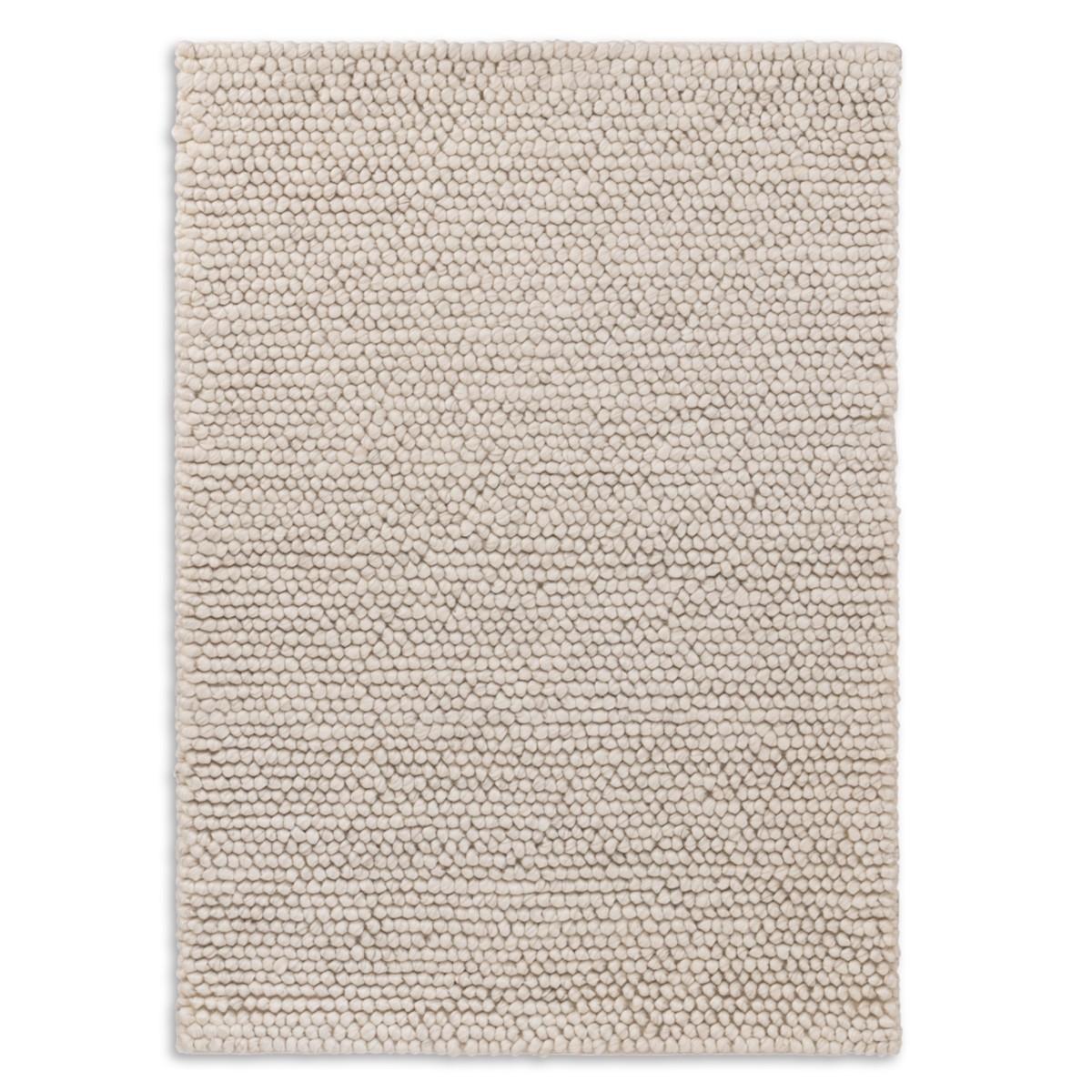 Niels Woven Wool/Viscose Rug - Ivory