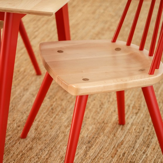 Nora Dining Chair Cherry Seat