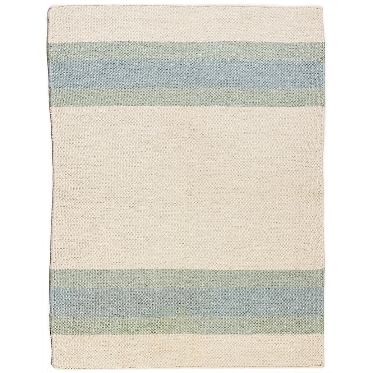 Ocracoke Wool Berber Striped Rug