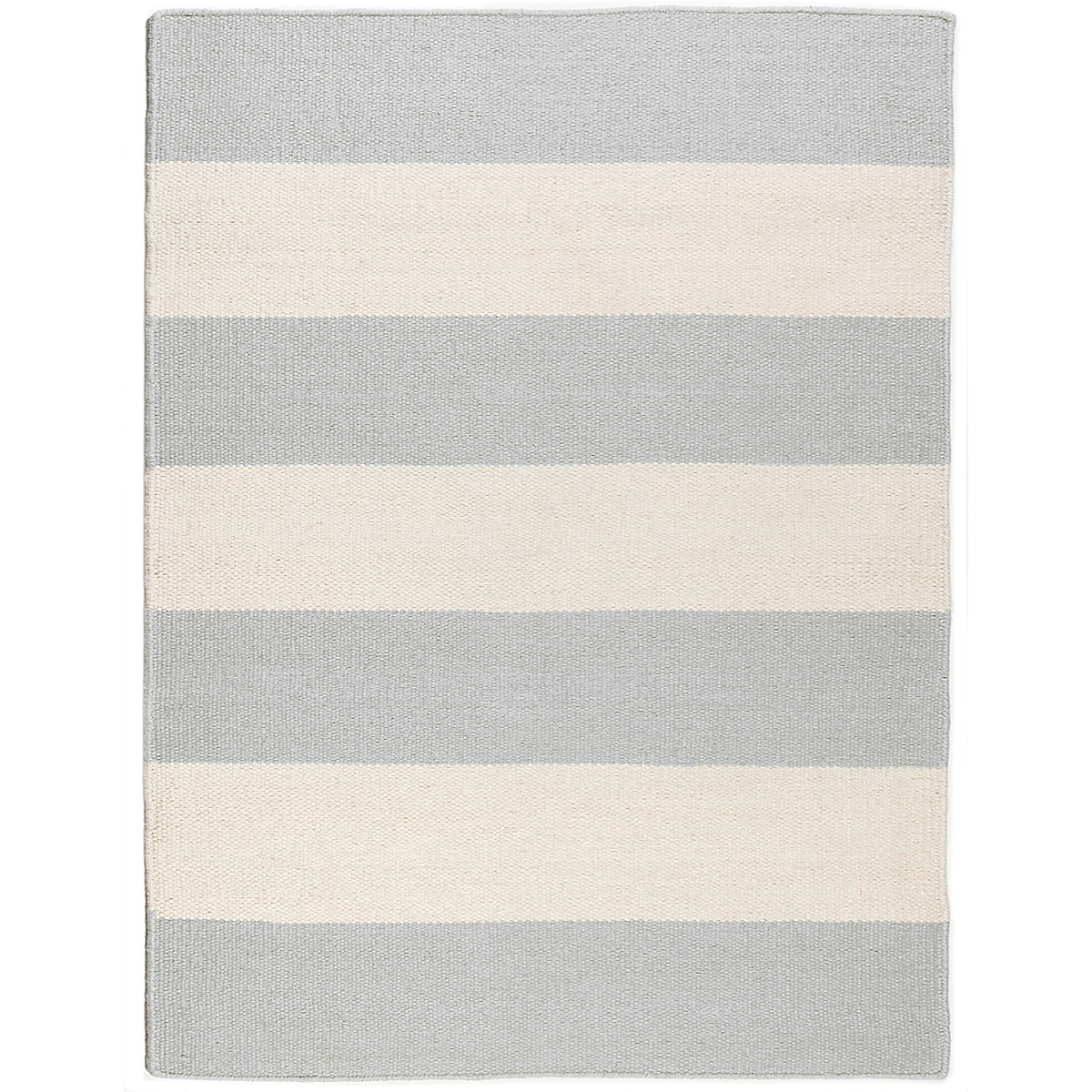 Point Retreat Wool Berber Striped Rug