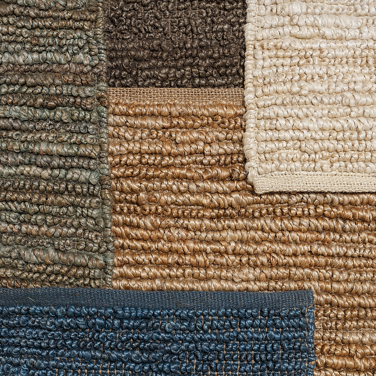 Reversible Jute Loop Rug: Java