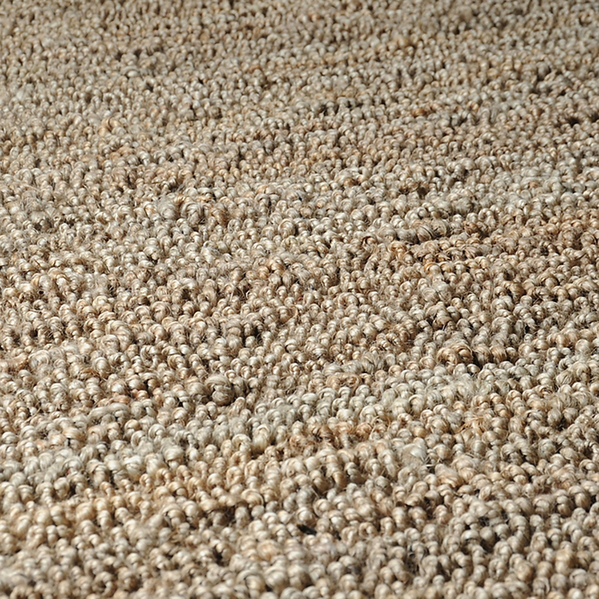 Reversible Jute Loop Rug: Natural Dark