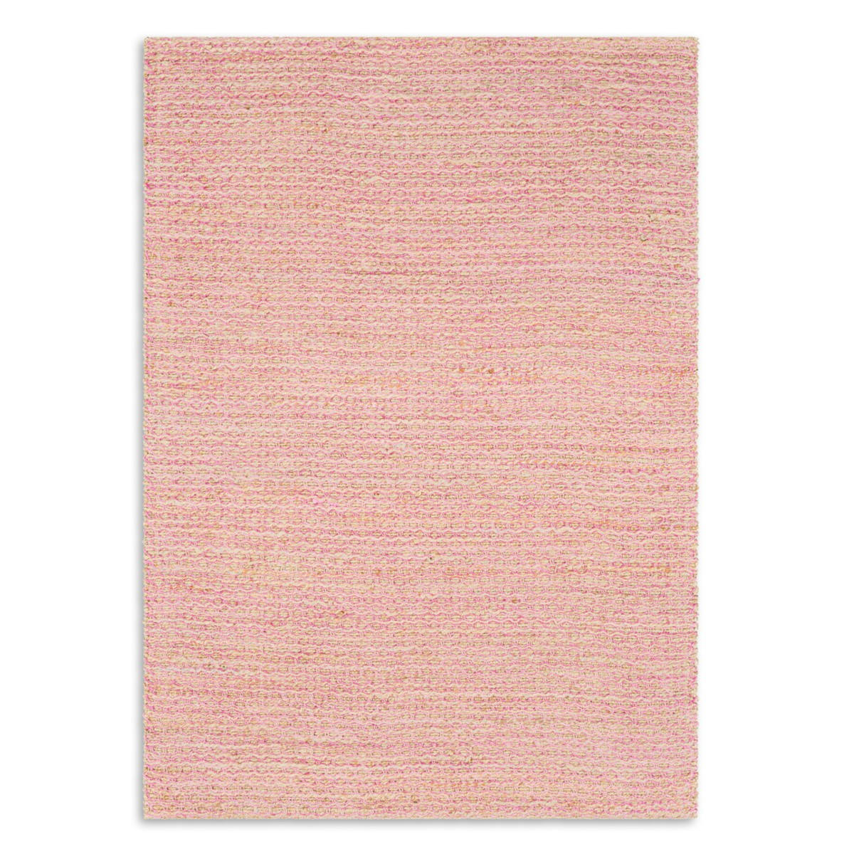 Ripple Woven Rug - Pink