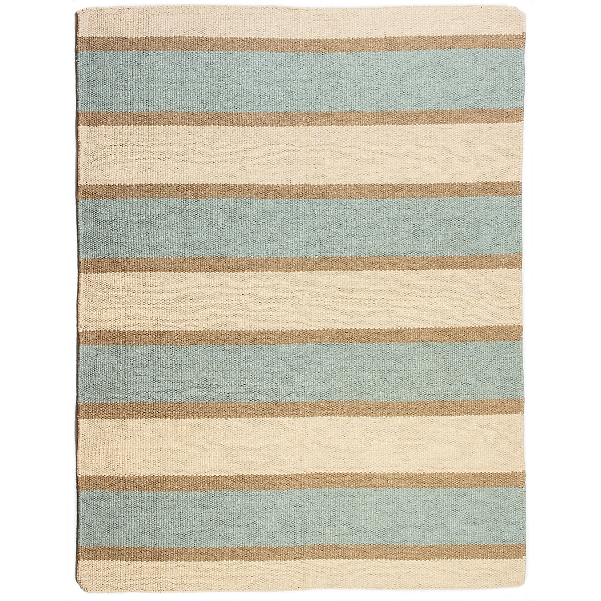Robinson Point Wool Berber Striped Rug