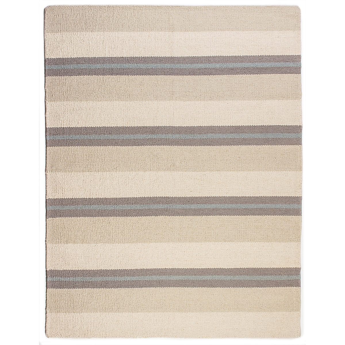 Saybrook Wool Berber Striped Rug