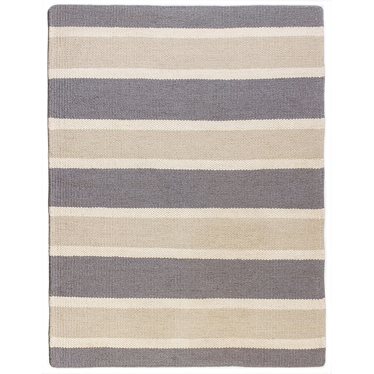 Smith Shoal Wool Berber Striped Rug