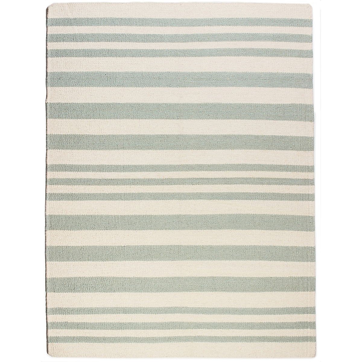 St. Augustine Wool Berber Striped Rug
