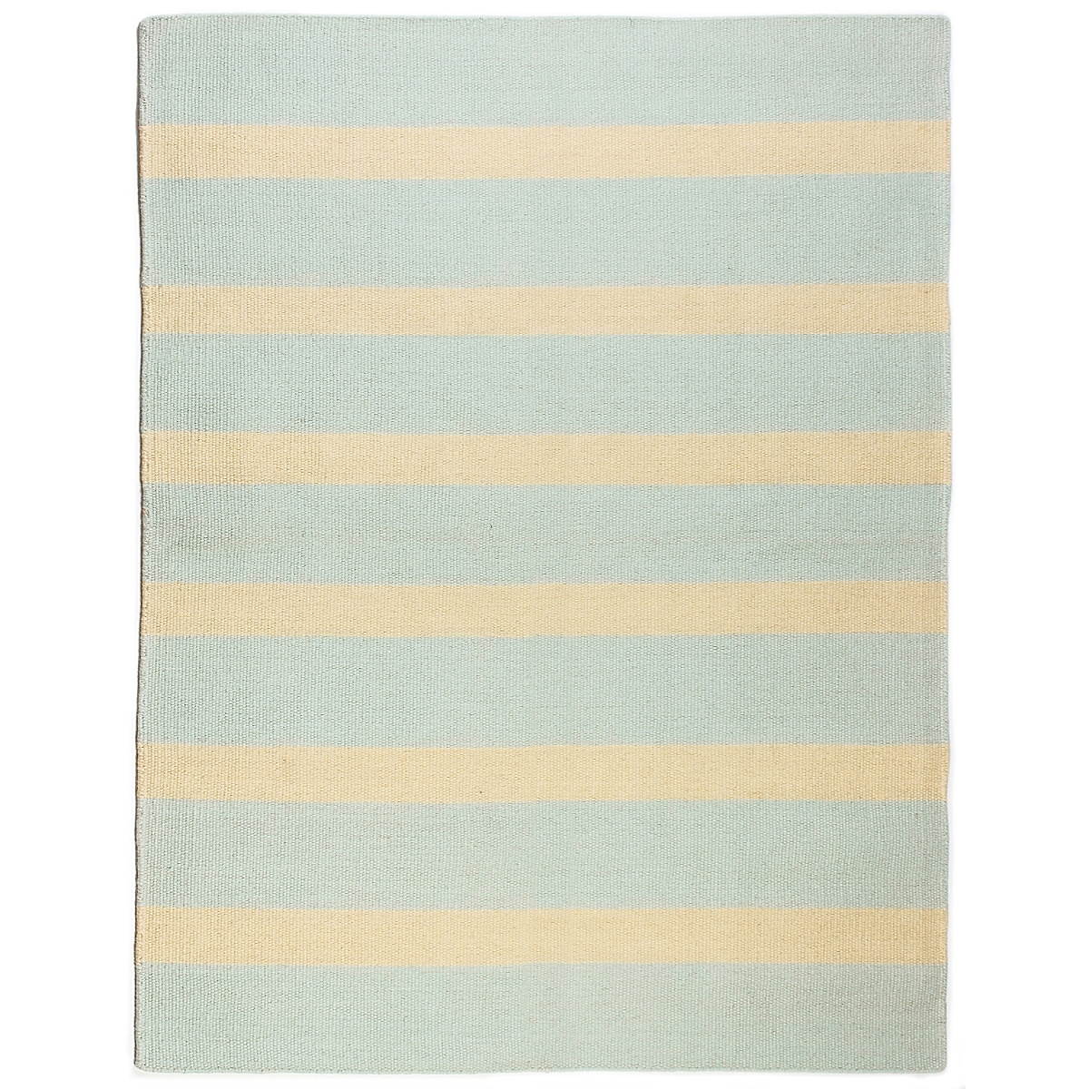 St. George's Reef Wool Berber Striped Rug